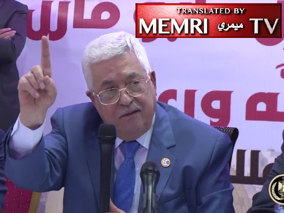 PA President Mahmoud Abbas at Jalazone Refugee Camp: We Will Enter Jerusalem as Millions of Fighters; Our Martyrs Are the Most Sacred Thing We Have